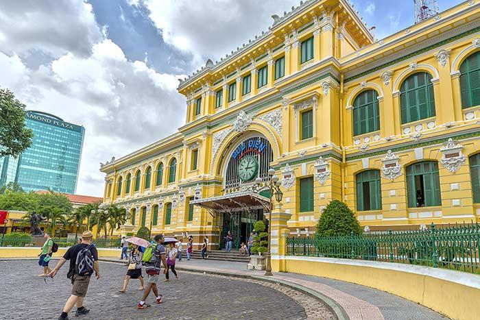 Correo Central de Ho Chi Minh Vietnam