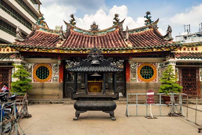 Pagoda Cholon en Ho CHi Minh Vietnam