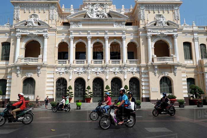 Hotel de la Ciudad de Saigón Vietnam