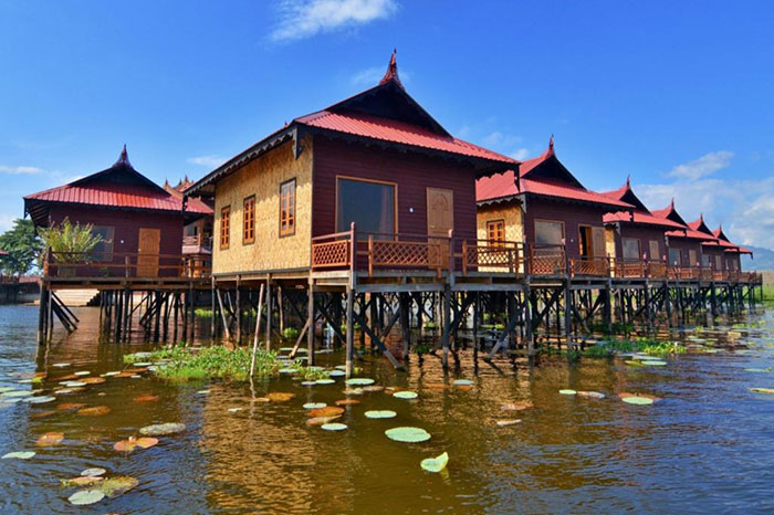 Inle Princess Resort en Myanmar