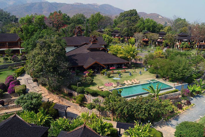 Lake View Resort lago Inle Myanmar