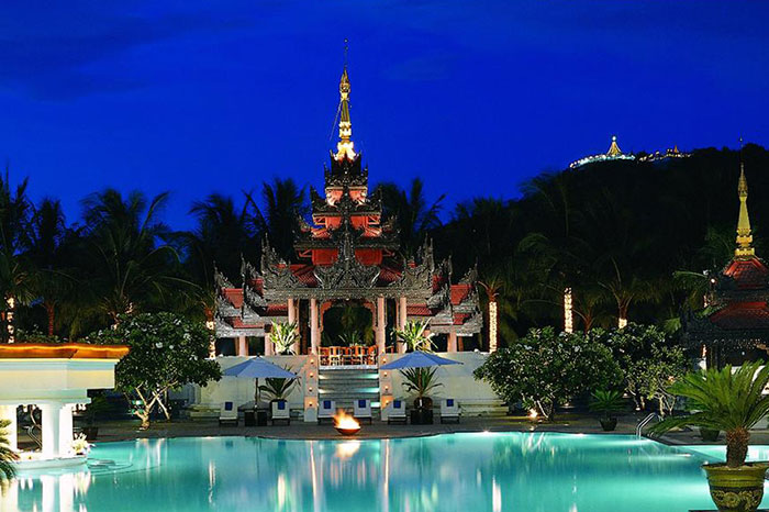 Mandalay Hill Resort en Myanmar