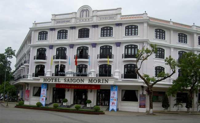 El hotel Saigon Morin en Hue Vietnam