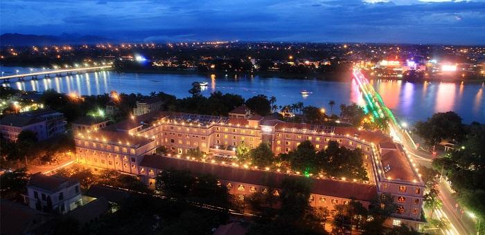 Hotel Saigon Morin en Hue