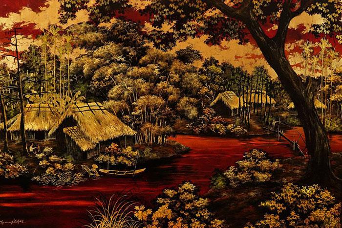 Pintura laca en Vietnam