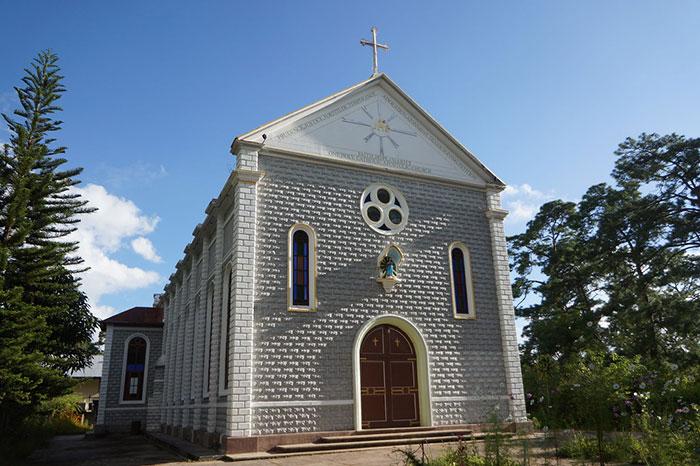 Iglesia de Kalaw Myanmar