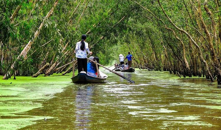 Ir a Vietnam en diciembre delta de Mekong