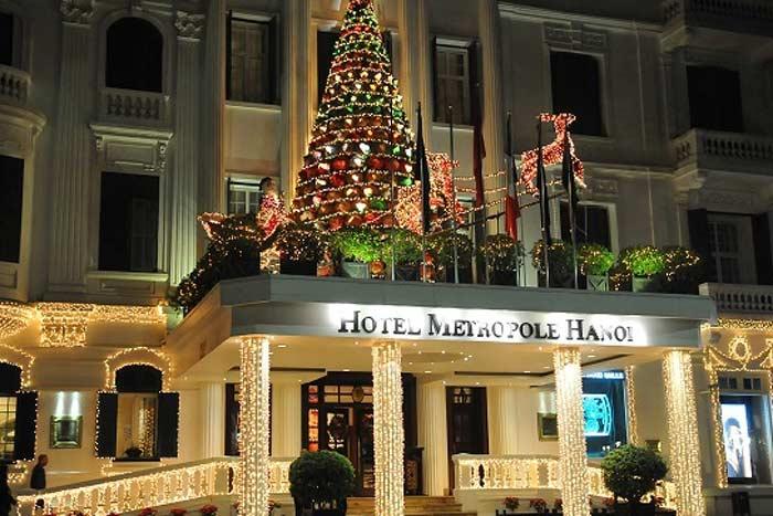 Diciembre en Hanoi Vietnam capital