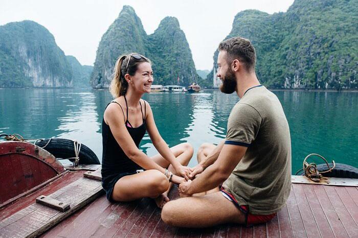 Crucero romantico en la Bahia de Halong por San Valentin