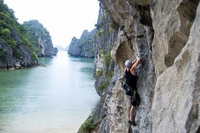 Escalada en la Isla de Cat Ba Vietnam