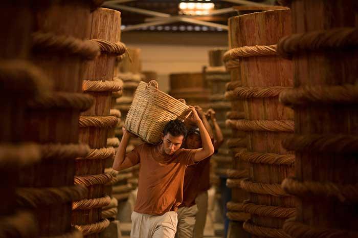 Fabrica de Salmuera en la isla Phu Quoc Vietnam