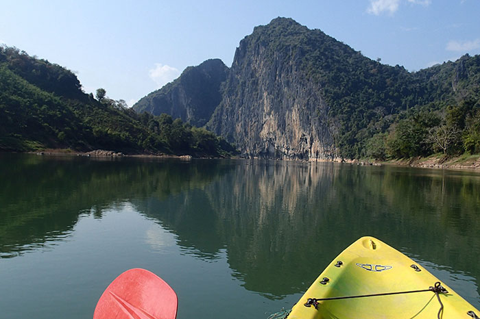 Kayak en Nong Khiaw