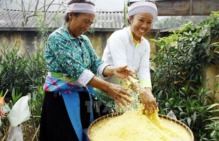 Cocina local en el lago Ba Be Vietnam