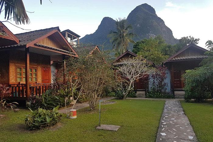 Lattanavongsa guesthouse en Muang Ngoi Laos