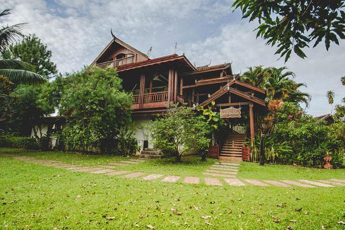 Loge Terre Rouge en Ratanakiri Camboya