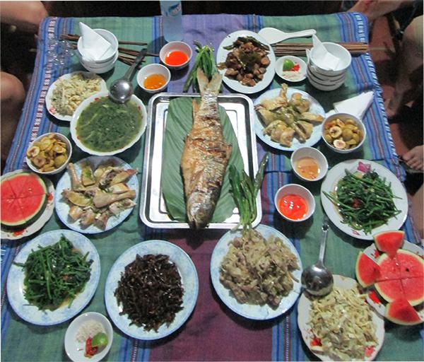 Cocina de Mai Chau Hoa Binh