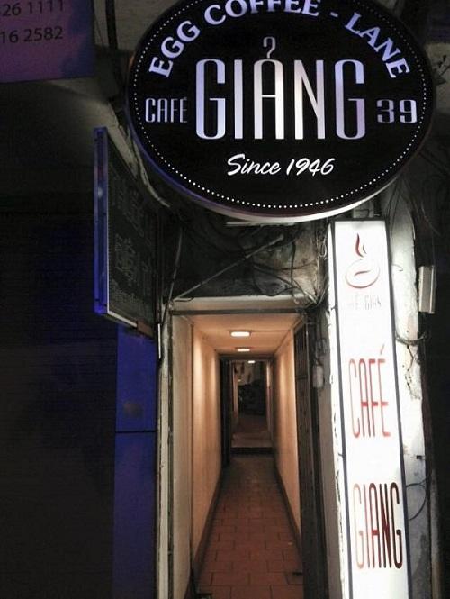 Cafeteria Giang en Hanoi Vietnam