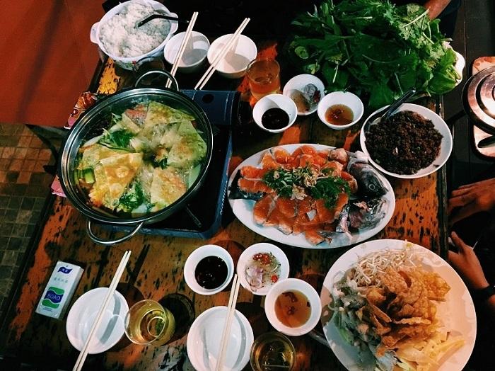Fondue especialidad culinaria en Sapa Vietnam