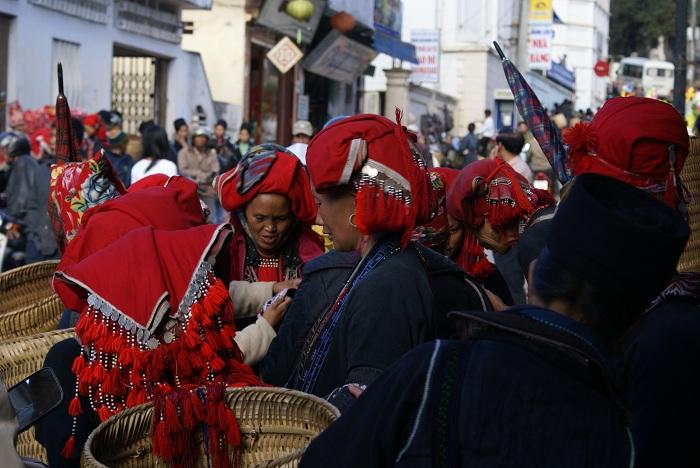 Encuentro de minorias etnicas en Sapa Vietnam