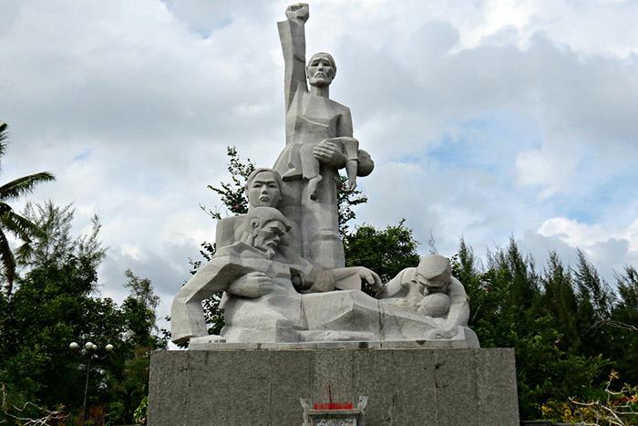 Memorial de la masacre de My Lai Vietnam