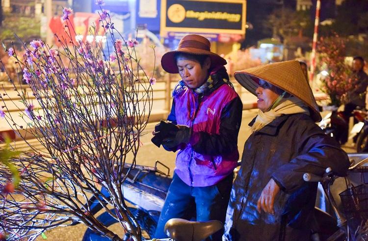 Mercado de flores de Quang Ba en Hanoi