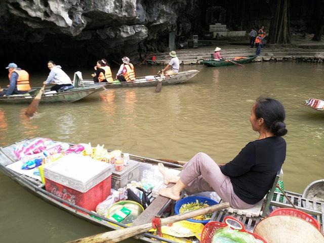 Mercado flotante de Tam Coc