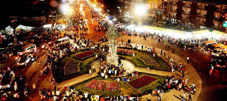 Mercado nocturno de Da Lat