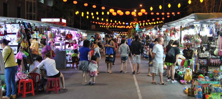 Mercado nocturna de Nha Trang