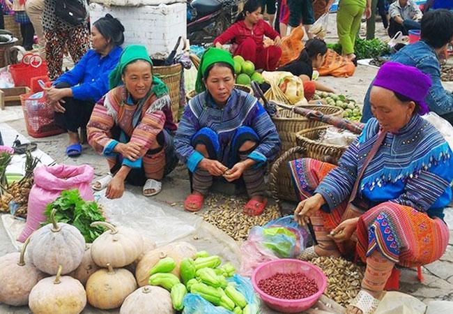 Mercado semanal de Sapa Vietnam