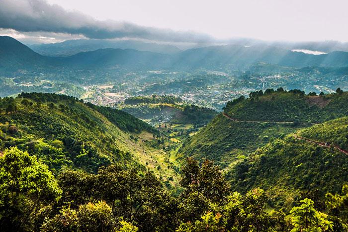 Monte Victoria Kanpetlet Myanmar