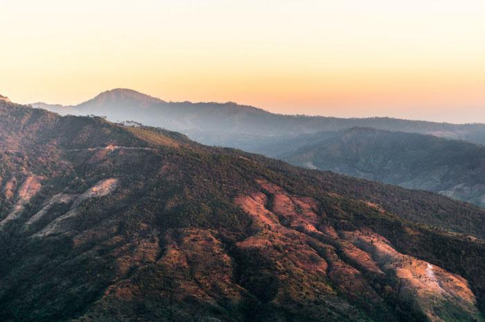 Monte Victoria en Mindat Myanmar