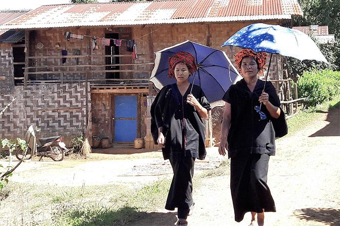 Mujeres en Mandalay Myanmar