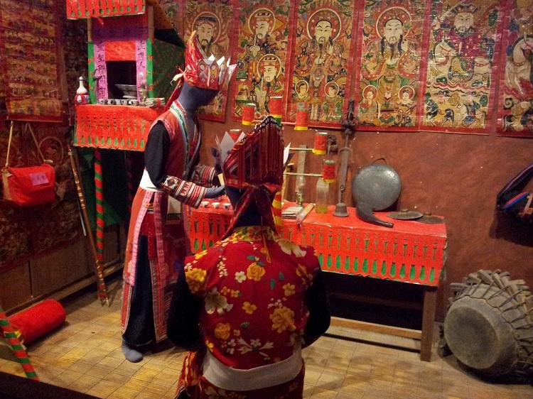 El museo de etnografia en Hanoi