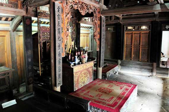 Casa Vietnamita en el Museo de Etnologia de Vietnam