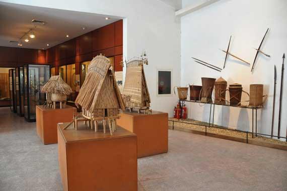 Exposicion en el Museo de Etnologia de Vietnam