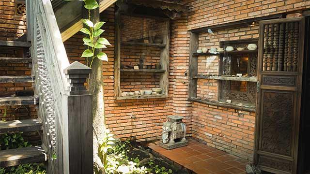 Balcon en el museo Fito en Saigon