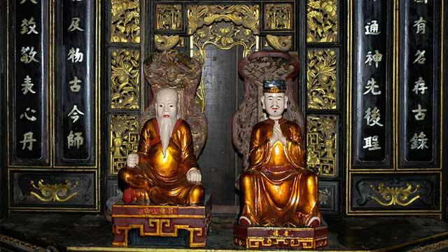 Maestros de la medicina tradicional en el museo Fito