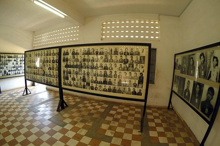 Museo del genocidio en Nom Pen