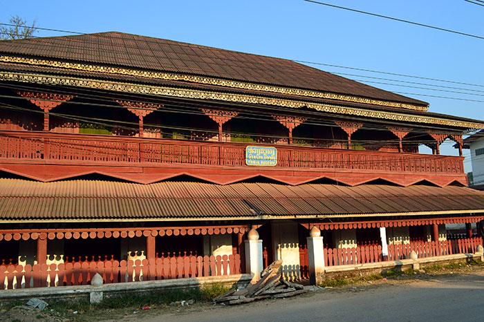 Museo en Muang Sing en Laos
