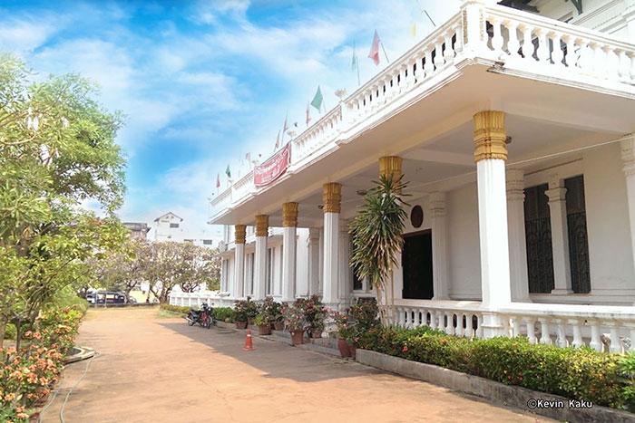 Museo Nacional en Vientiane Laos