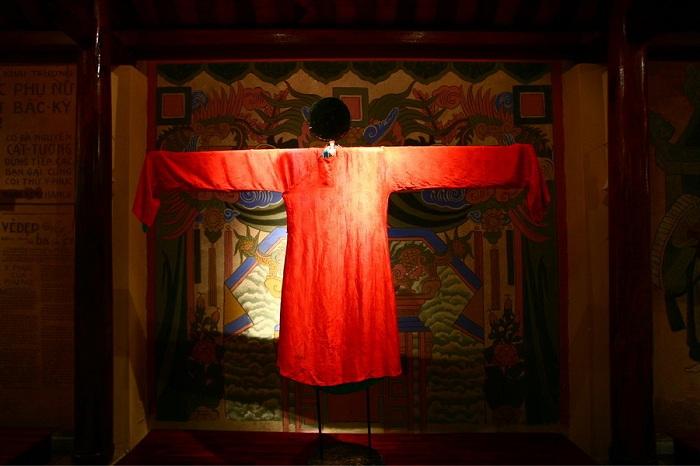 Museo Ao Dai en Ho Chi Minh vestido 5 tejidos