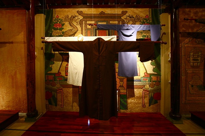 Museo Ao Dai en Ho Chi Minh vestidos religiosos