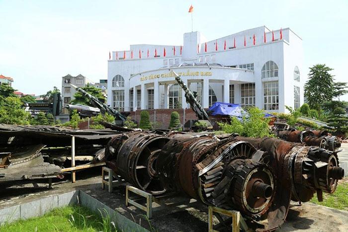 Museo de la victoria b52 en hanoi