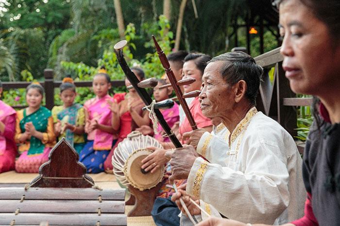 Musica tradicional de Laos