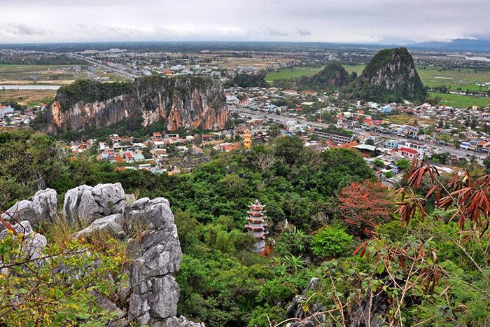 Montanas de marmol Da Nang Vietnam