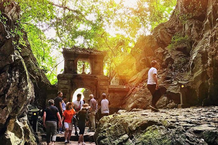 Pagoda Linh Ung montana de marmol Da Nang Vietnam