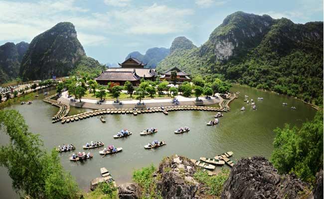 Complejo de Trang An en Ninh Binh