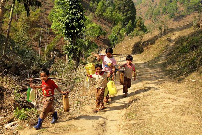 Kyaukme noreste de Myanmar
