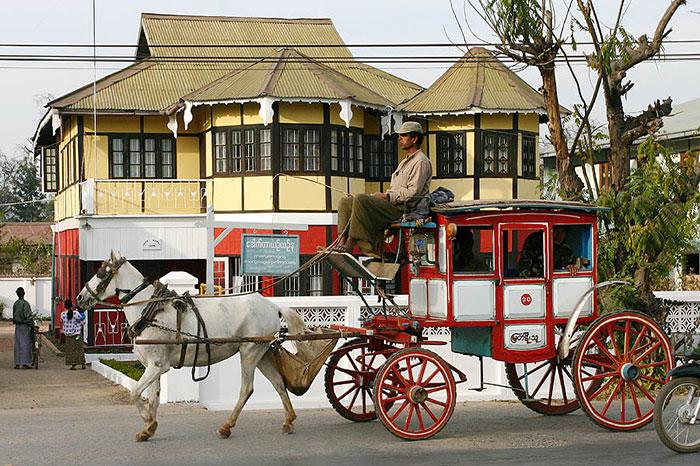 Pyin Oo Lwin noreste de Myanmar