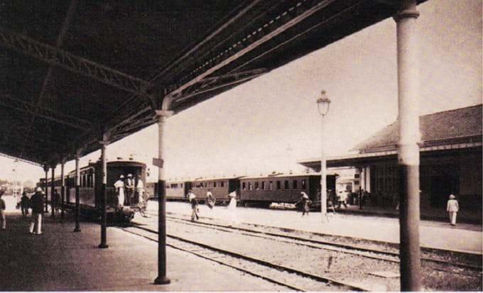 Antigua estacion de tren en Saigon